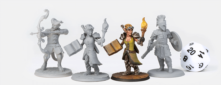 photograph about Printable Minis D&d identify Hero Forge - Over Our Content